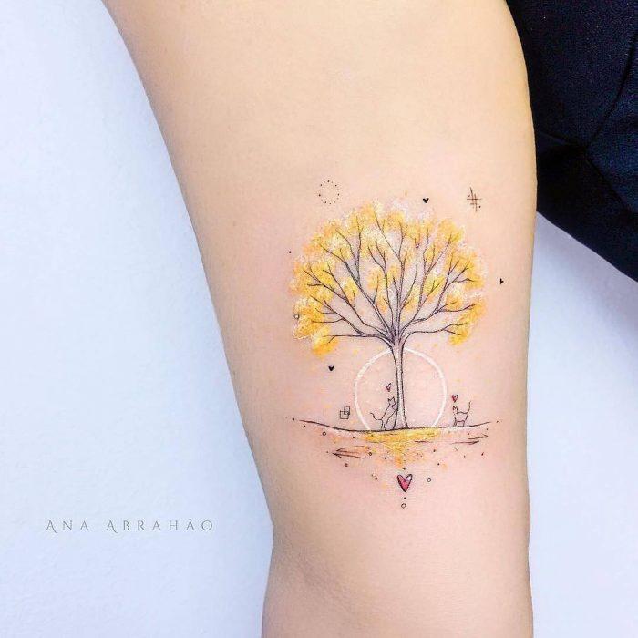Tatuajes ultra delicados que te encantarán