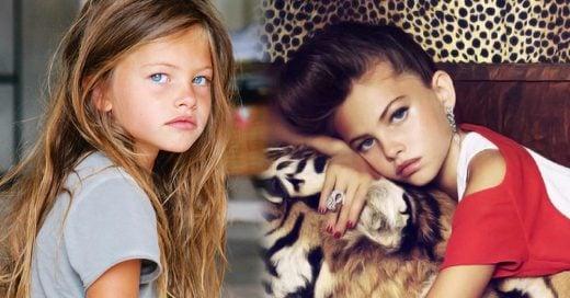 Así luce 'la niña más bonita del mundo' a los 16 años, su cambio es increíble