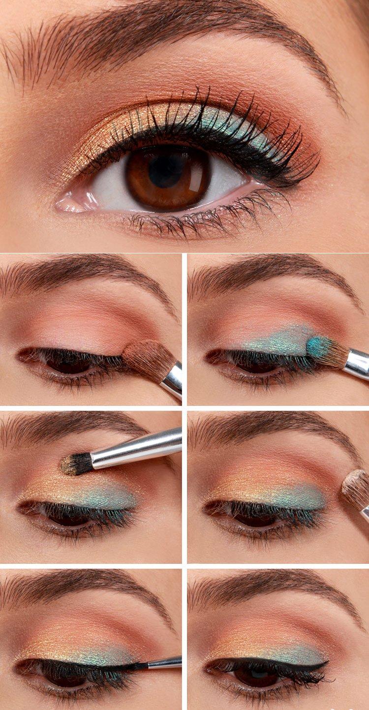 Hay un tono de sombras adecuadas para el color de tus ojos for Sombras de ojos para ojos marrones