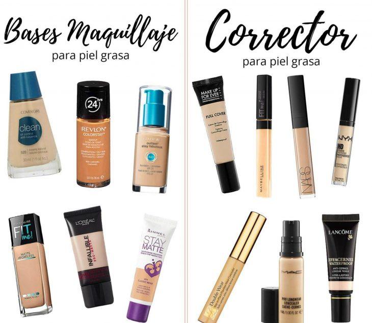 Maquillajes y correctores