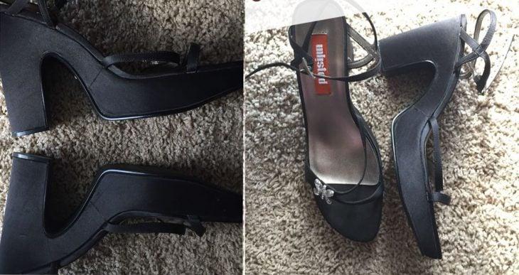 zapatillas de sandalia con plataforma ancha