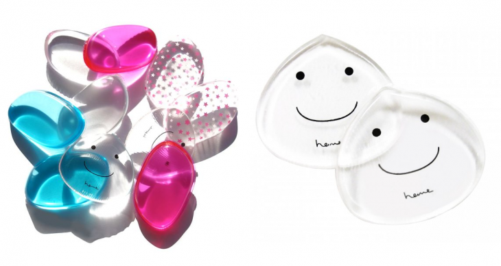 esponjas de silicon con sonrisa