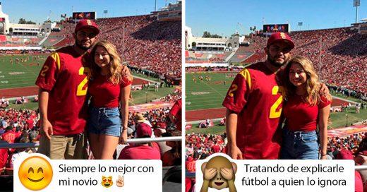 Veces que una pareja comparte la misma fotografía con muy diferentes pies de foto