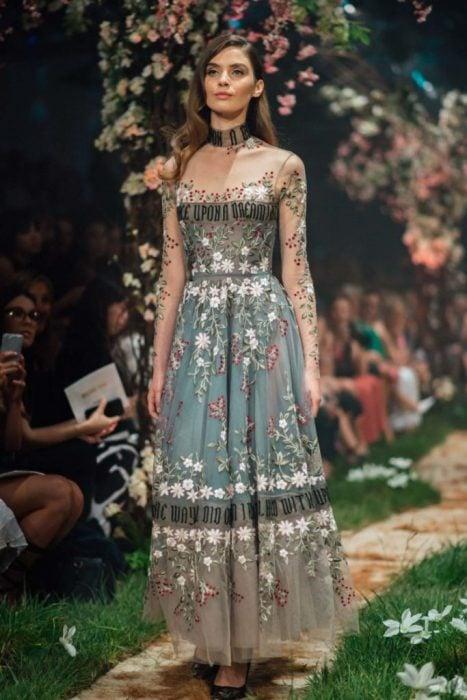 Vestidos de alta costura inspirados en cuentos de Disney