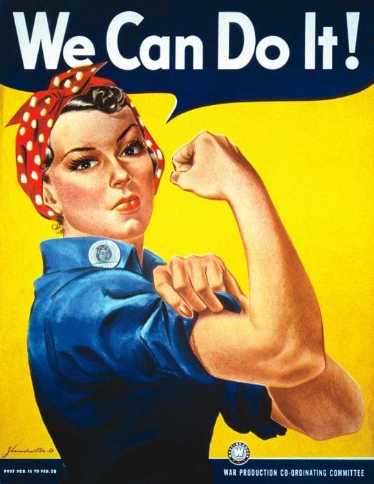 cartel de we can do it