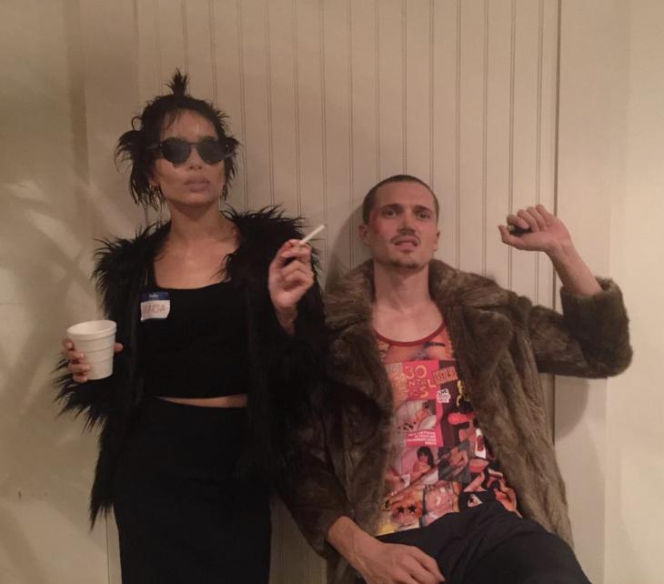 Zoe Kravits y Karl Glusman