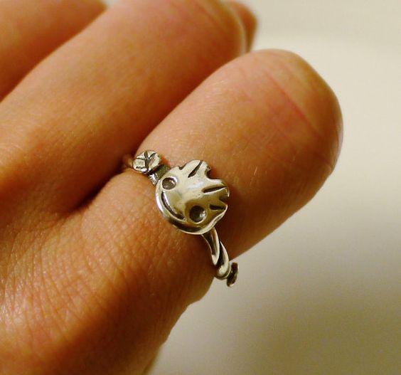 anillo de baby groot