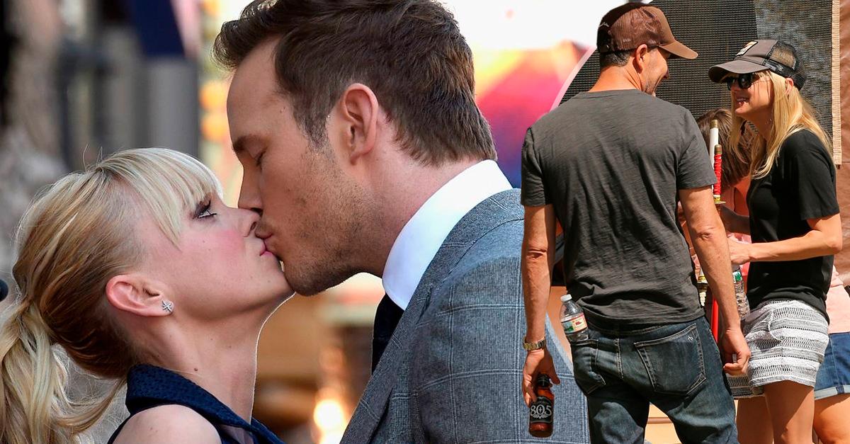 Anna Faris tiene nuevo galán y parece que está superando a Chris Pratt