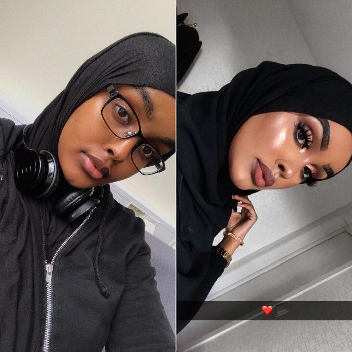 Chica usando Hijab