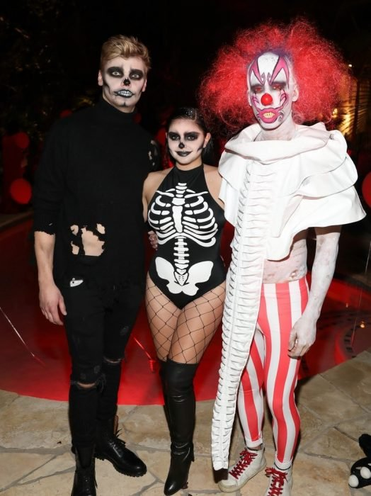 levi meaden y ariel winter ghouls