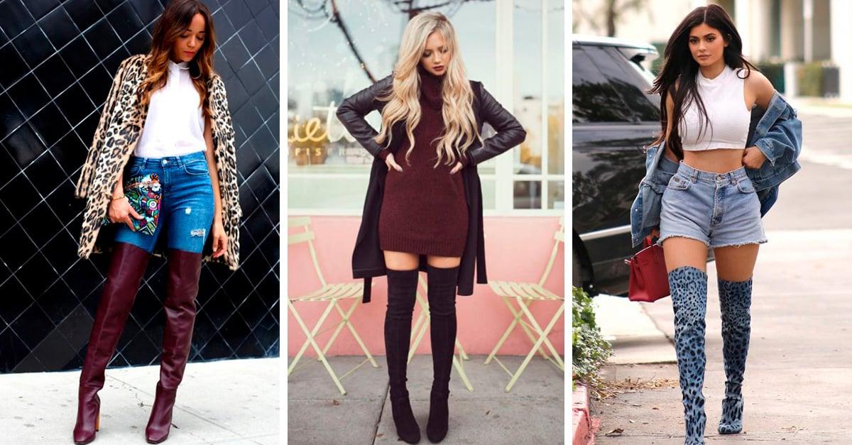 20 Maneras en las que puedes usar tus elegantes botas altas