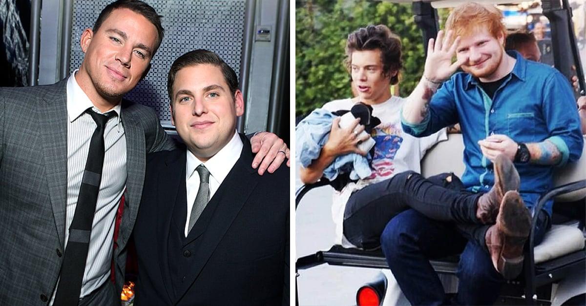 15 Amistades entre actores y cantantes que demuestran que el bromance existe