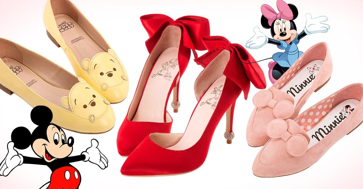 Esta colección de zapatos inspirada en Disney es todo lo que necesitas