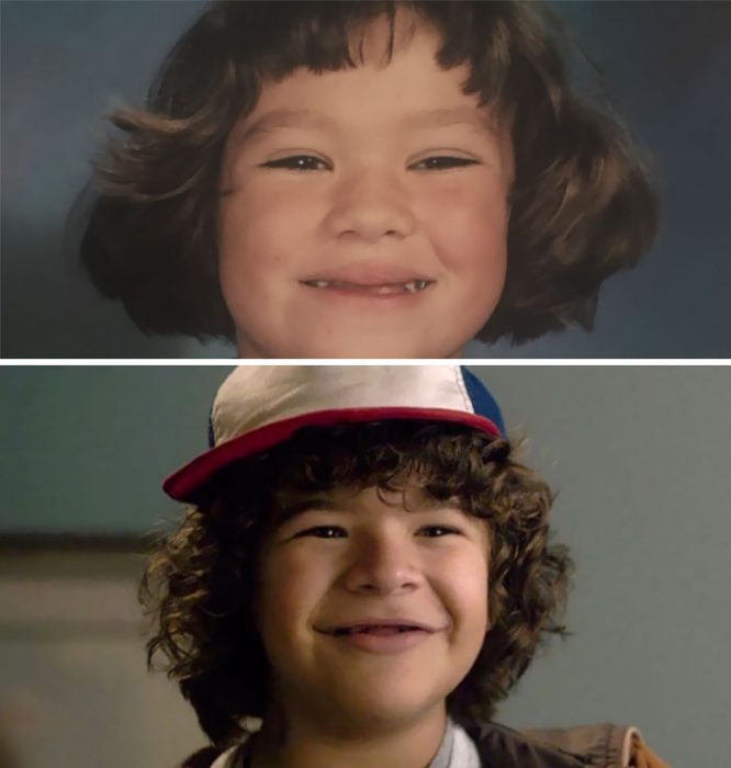 comparación de niños en una foto