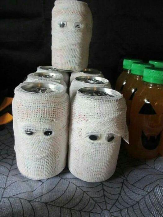 latas momificadas