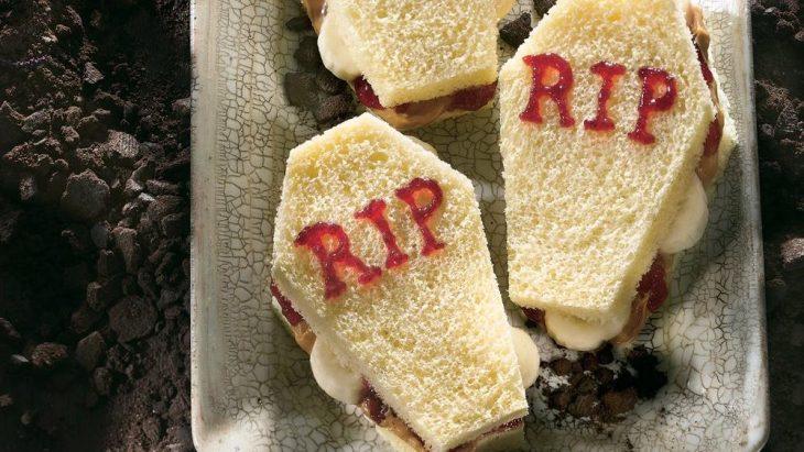 sandwiches de ataúd