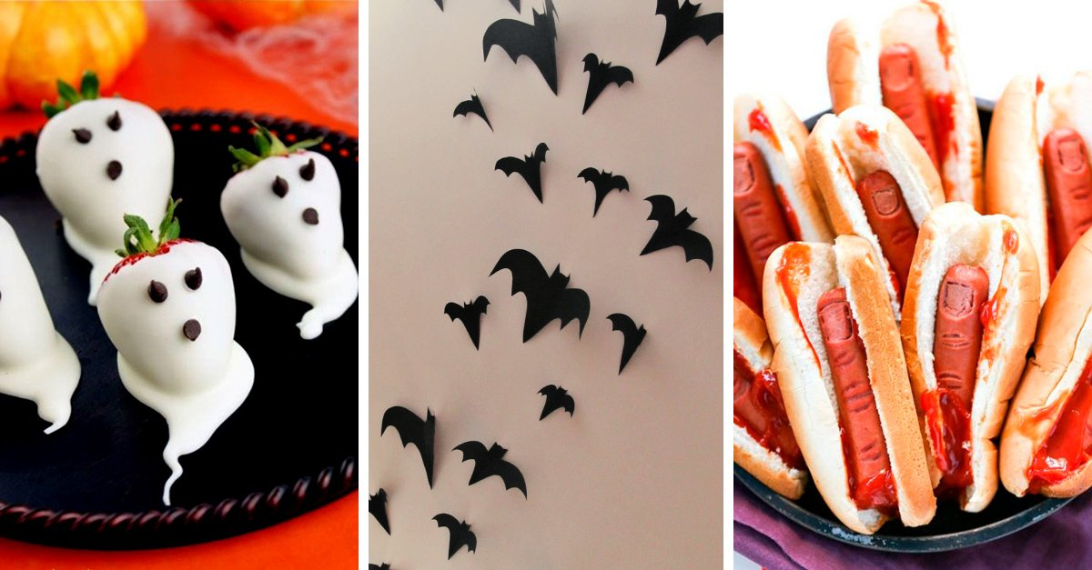 17 sencillas ideas para decorar tu casa en halloween for Decoracion fiesta halloween