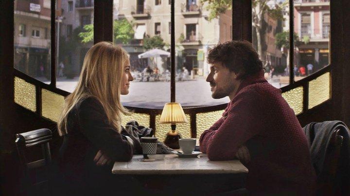 pareja en el café