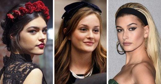 20 Estilos con diademas para darle más glamour a tu peinado