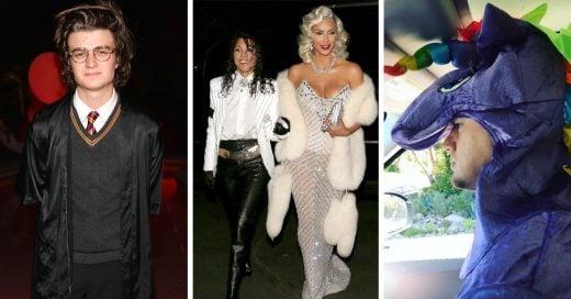 Así se disfrazaron las celebridades este Halloween 2017