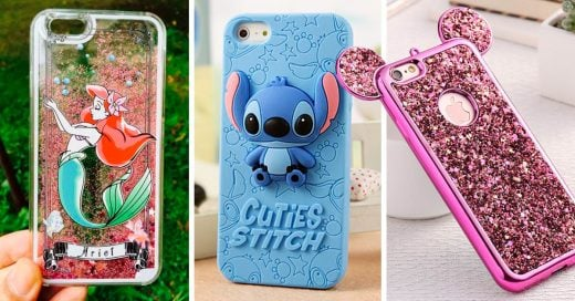 15 Carátulas para tu celular inspiradas en Disney que te llevarán de nuevo a tu infancia