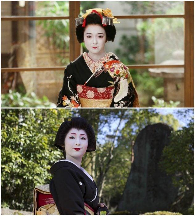 geisha y maiko