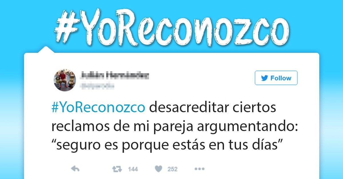 #YoReconozco, la campaña de los hombres contra el acoso sexual