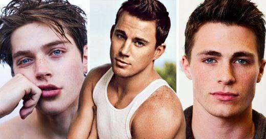 16 Hombres con pecas tan sexis que te provocarán un embarazo visual
