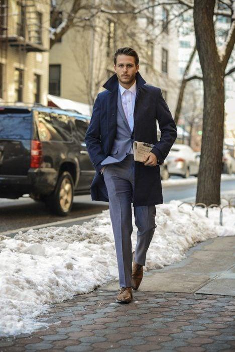 hombres guapos nueva york