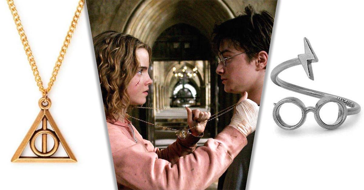 La nueva colección de joyería de Harry Potter es simplemente perfecta