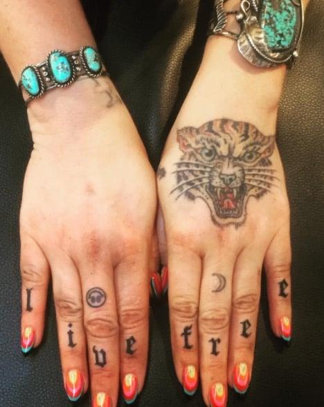 kesha tattoo