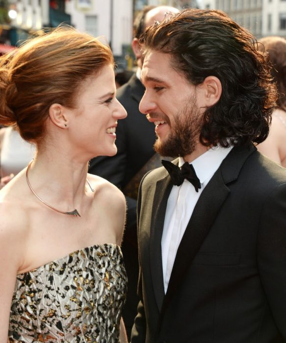 kit harinton y rose leslie