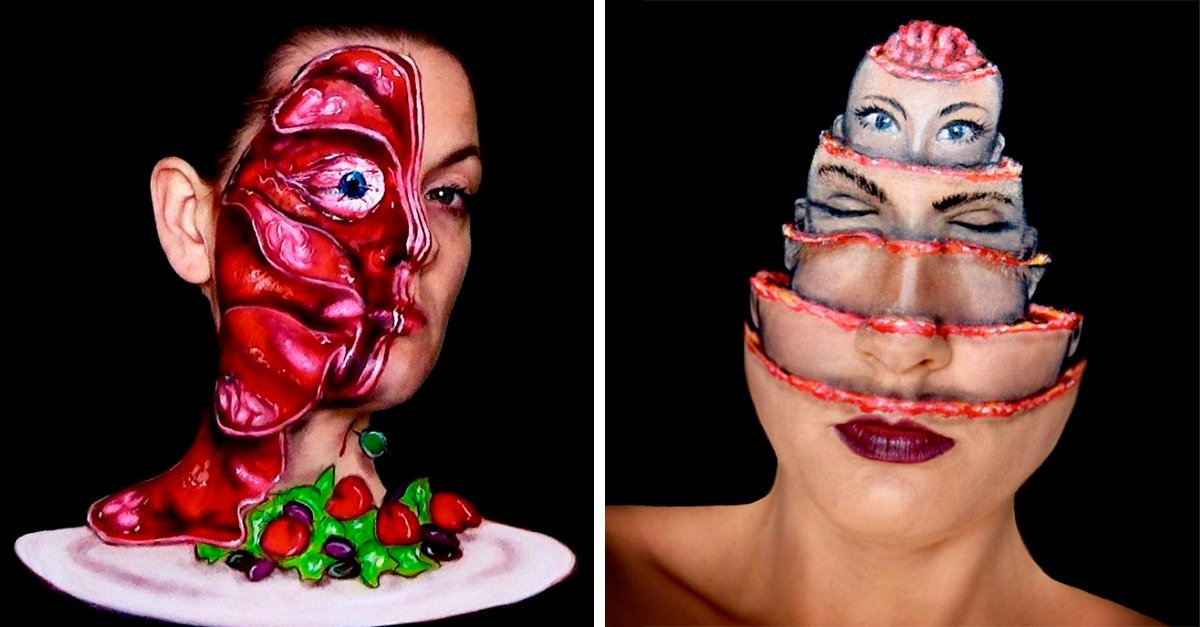 Formas de maquillaje que te darán escalofríos