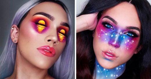 Esta Instagramer hace que su rostro sea un lienzo perfecto