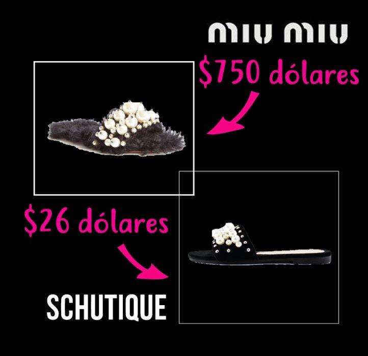 zapatos de diseñador vs zapatos accesibles miu miu schutique
