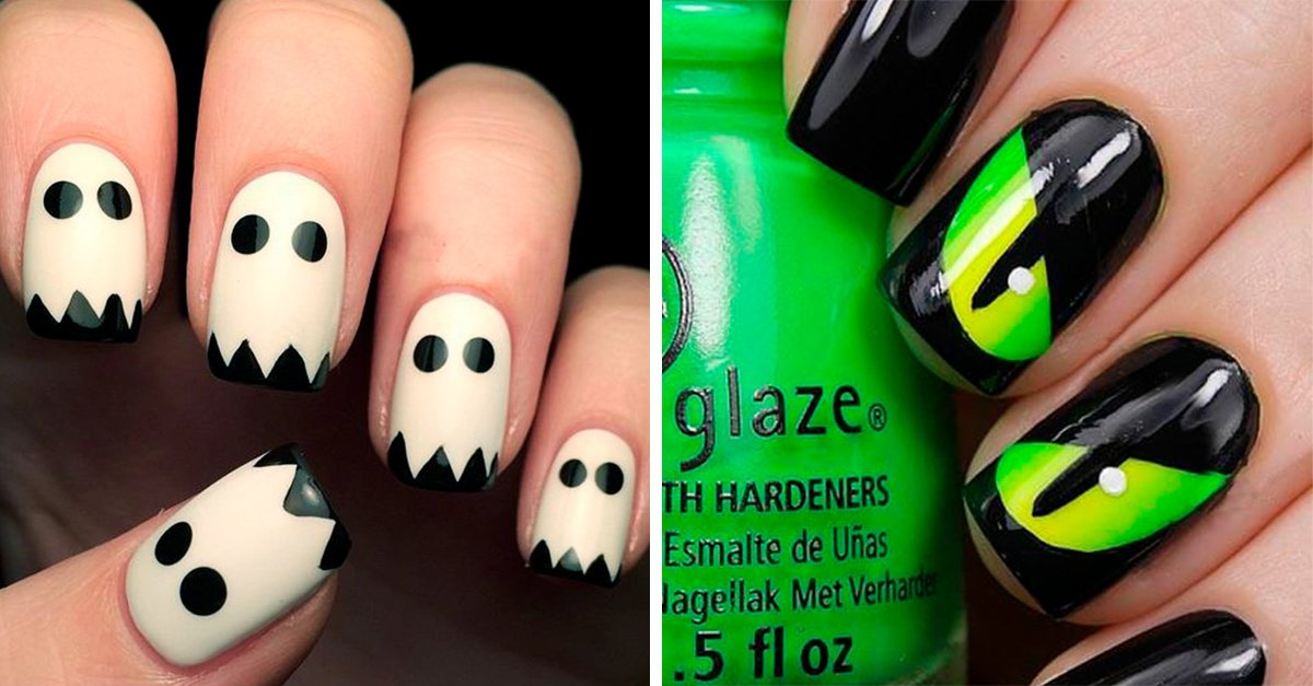 15 geniales ideas de uñas que usarás si amas Halloween