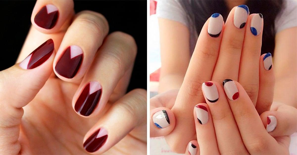 20 diseños de uñas minimalistas que necesitas empezar a considerar