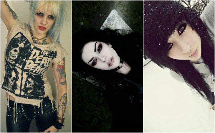 niñas punk