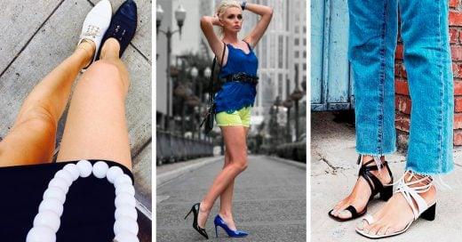 Zapatos de diferentes colores, la nueva tendencia de Instagram