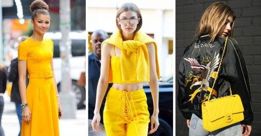El amarillo es el nuevo rosa: 11 claves para lucirlo con estilo