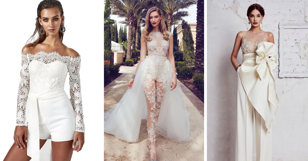 15 looks que las novias pueden usar si no aman los vestidos