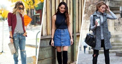 15 prendas que puedes usar en otoño para lucir perfecta