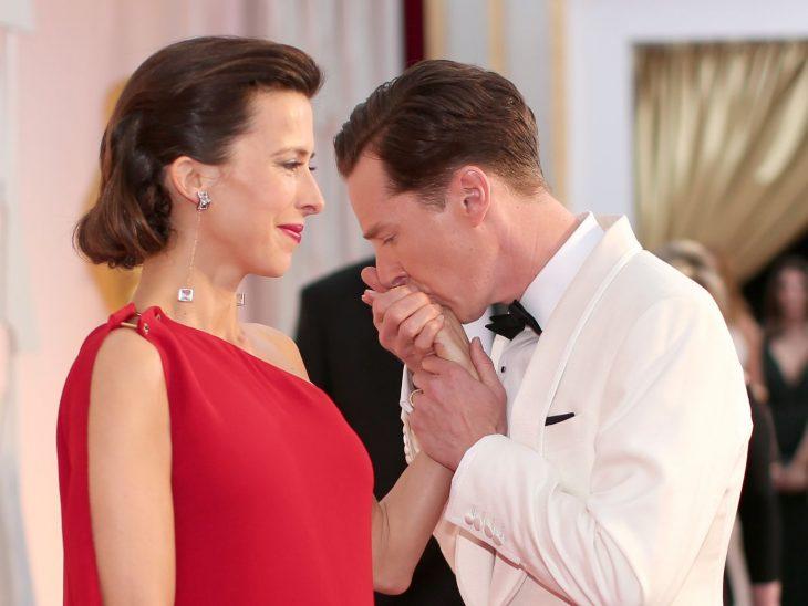 benedict cumberbatch y su esposa