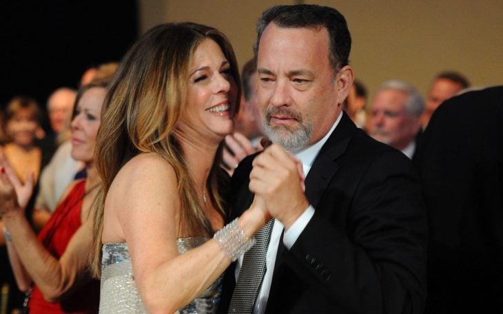 tom hanks y su esposa