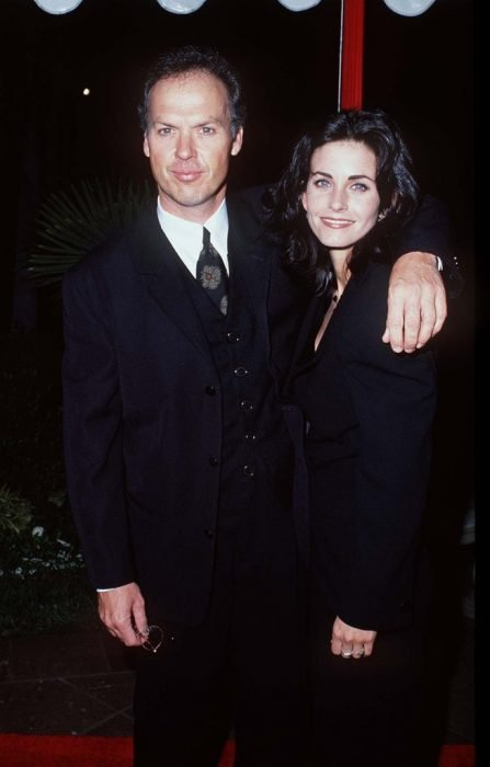 courteney cox y michael keaton