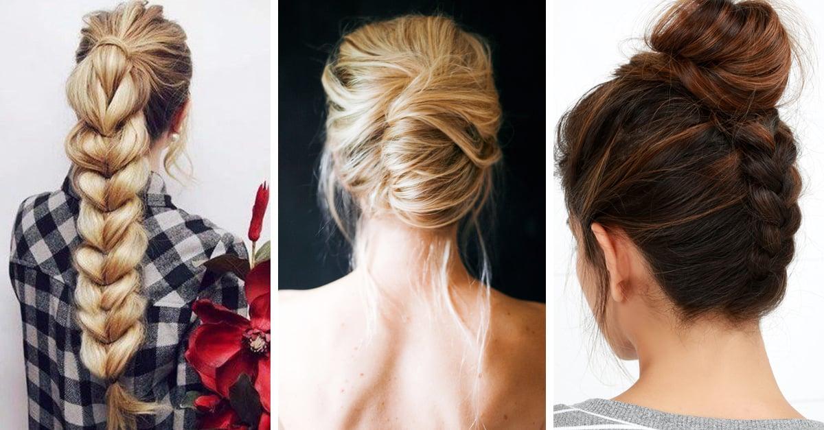 15 Lindos peinados para llevar contigo durante el invierno; todos son muy sencillos