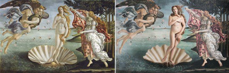 recreación pinturas famosas