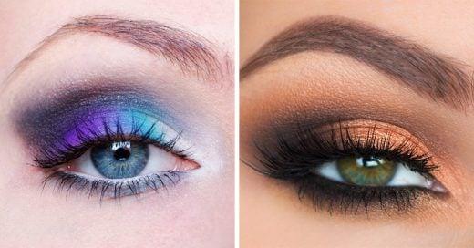 Según el color de tus ojos hay una sombra adecuada