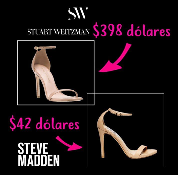 zapatos de diseñador vs zapatos accesibles steve madden