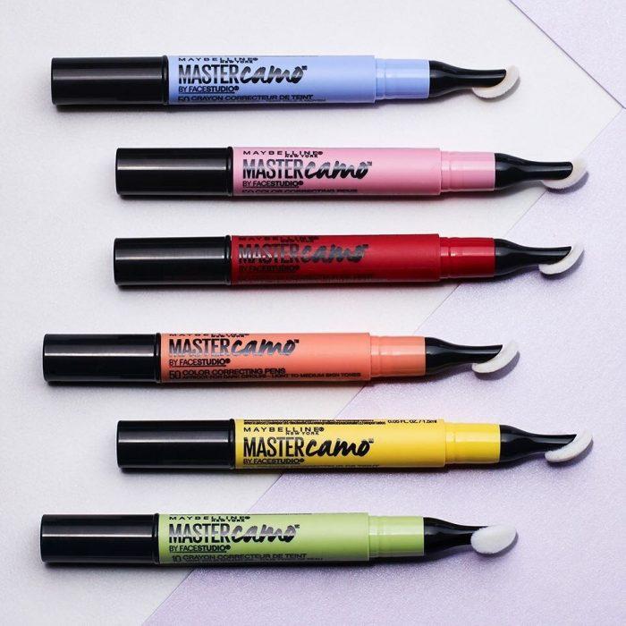 correctores de colores
